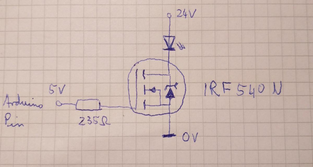 MOSFET schaltet nicht ganz durch - Mikrocontroller.net