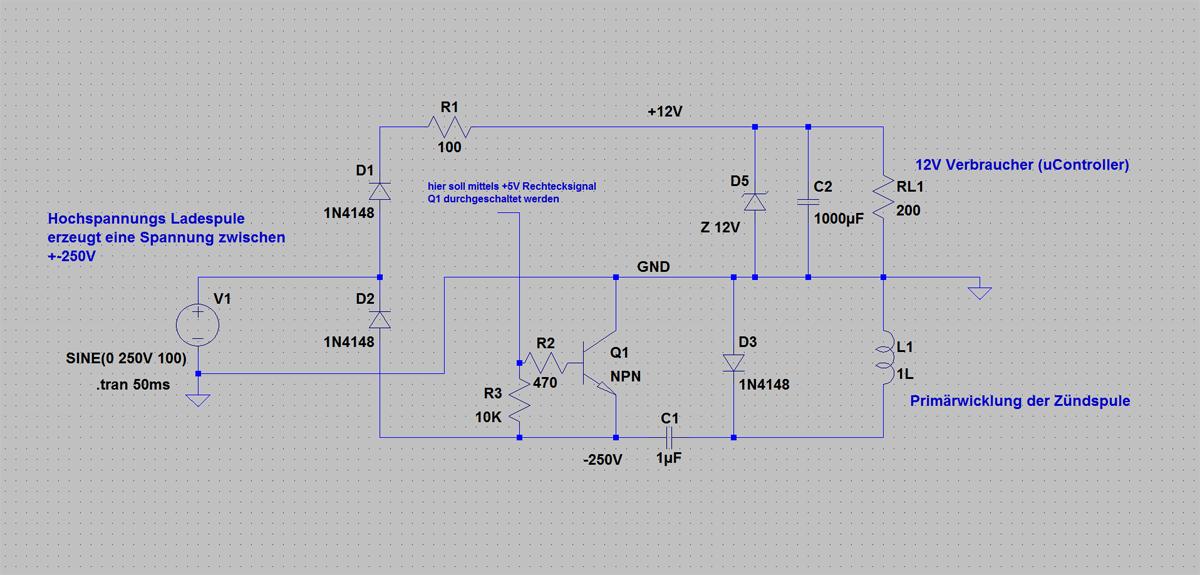 Transistor in \