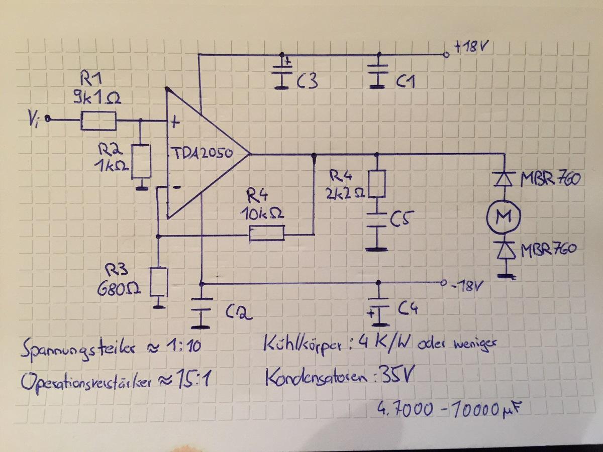 Leistungsteller Gleichstrommotor 2 X 22 Watt Stereo Amplifier Using Ic Tda 1554 Preview Image For Schaltplan Neujpeg