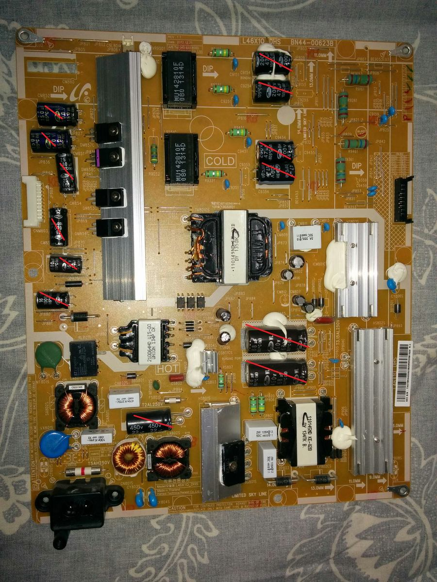 reperatur samsung netzteil bn44 00623b samsung clicking. Black Bedroom Furniture Sets. Home Design Ideas