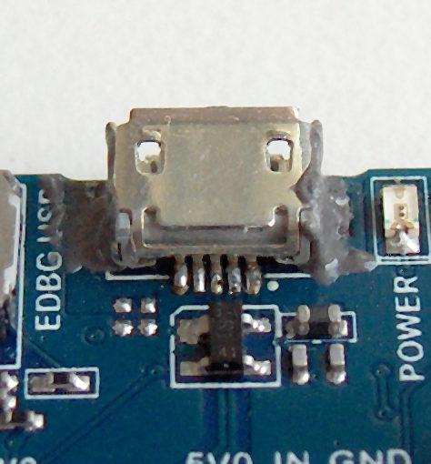 Micro-USB Buchse, Lötpads abgerissen - Mikrocontroller.net