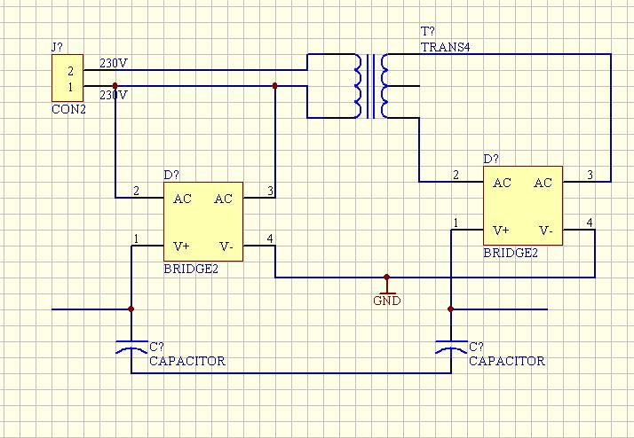 Potenziale Trafo - Mikrocontroller.net