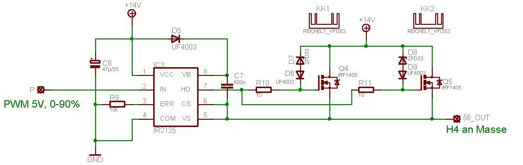 Problem Mit Mosfet Treiber Ir2125 Mikrocontroller Net