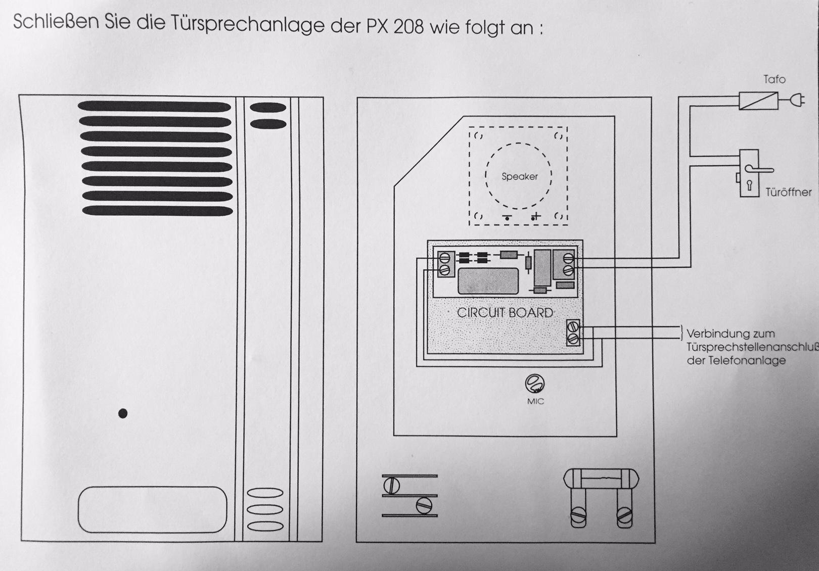 Fein Türöffner Schaltpläne Fotos - Die Besten Elektrischen ...
