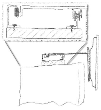 teile f r schienen system tipp f r lcd tv im schlafzimmer. Black Bedroom Furniture Sets. Home Design Ideas