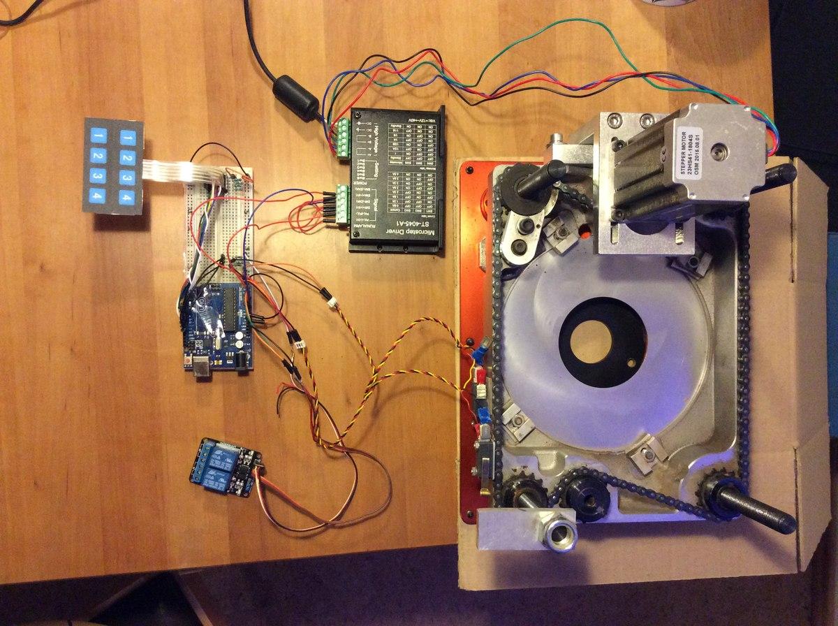 Arduino Motorsteuerung : Start durch Taster, Stopp durch Endschalter ...