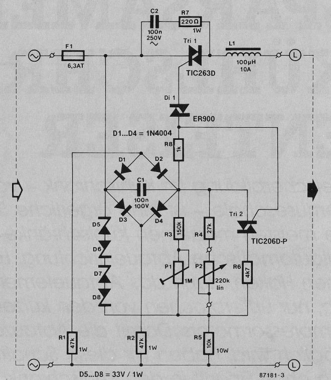 Frage zu Modul Transformatoren Leistungsregler von Kemo ...