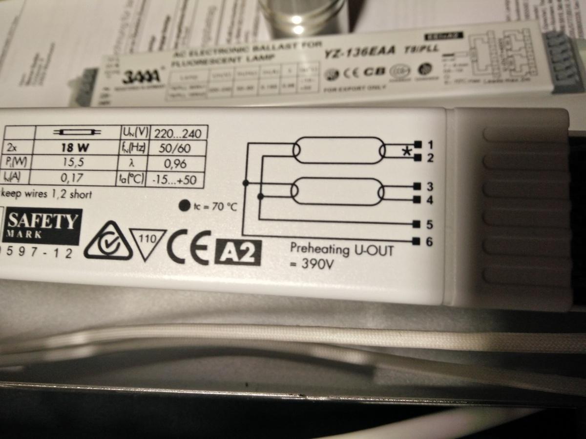 EVG Leuchtstoffröhre tauschen - Mikrocontroller.net