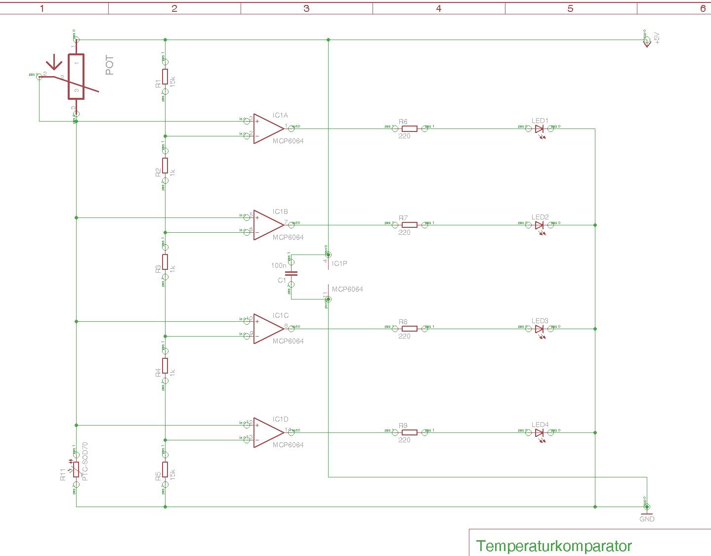 OPV-Schaltung mit LEDs - Warum leuchtet eine LED dauerhaft ...