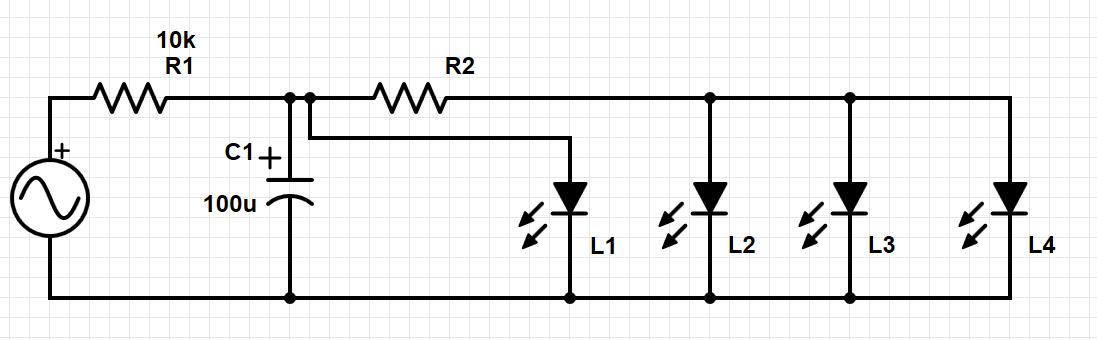 LED mit Kondensator betreiben am Netz - Mikrocontroller.net
