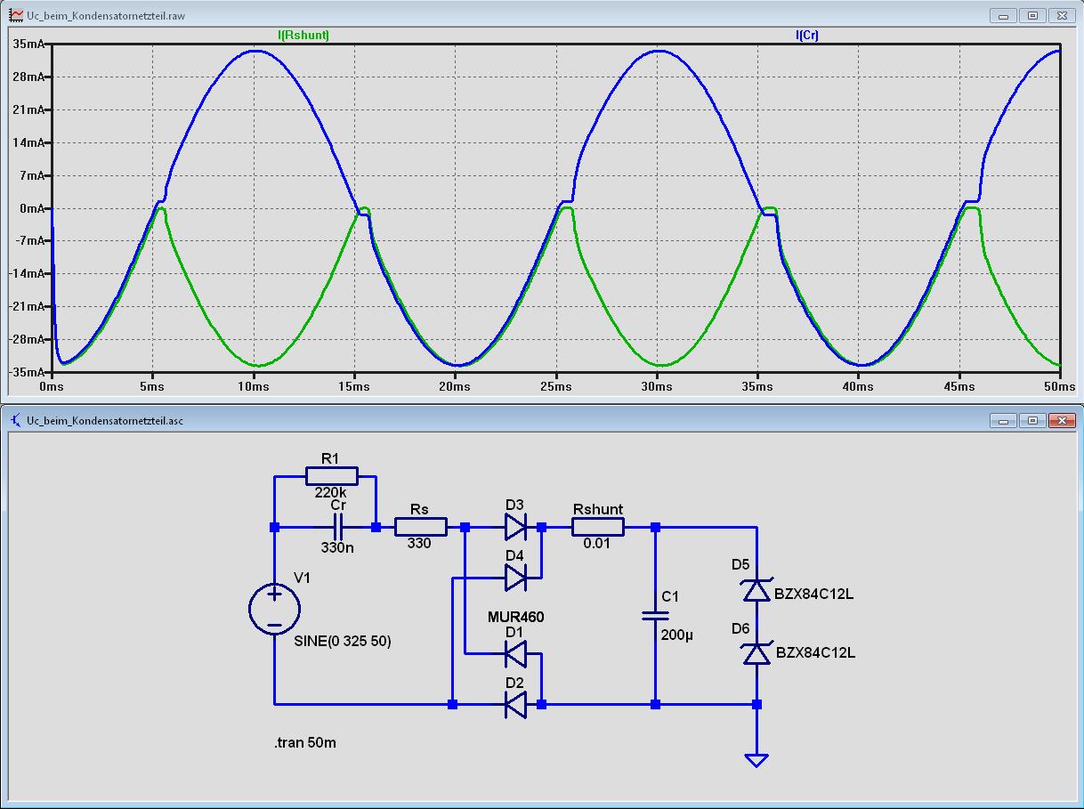 frage kondensatornetzteil mikrocontrollernet