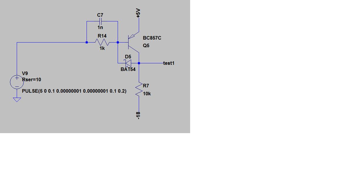 Transistorschalter beschleunigen - Mikrocontroller.net
