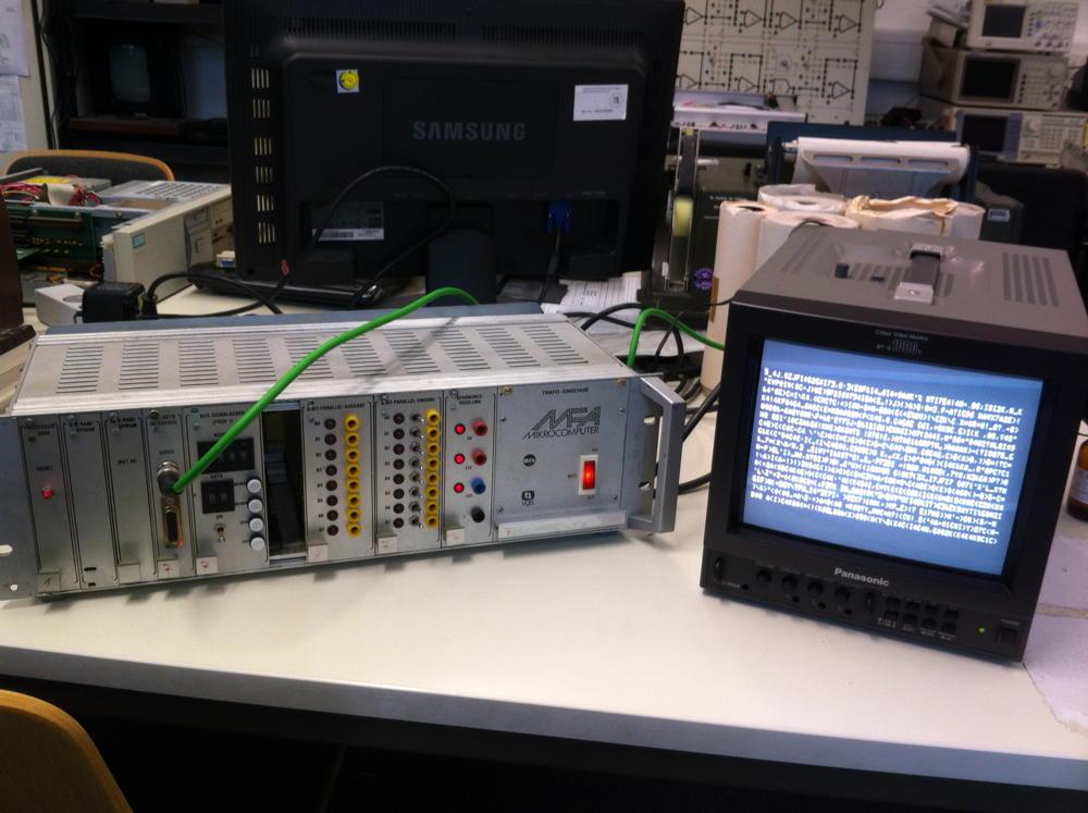 MFA Ascii-Video Interface Schaltplan - Mikrocontroller.net