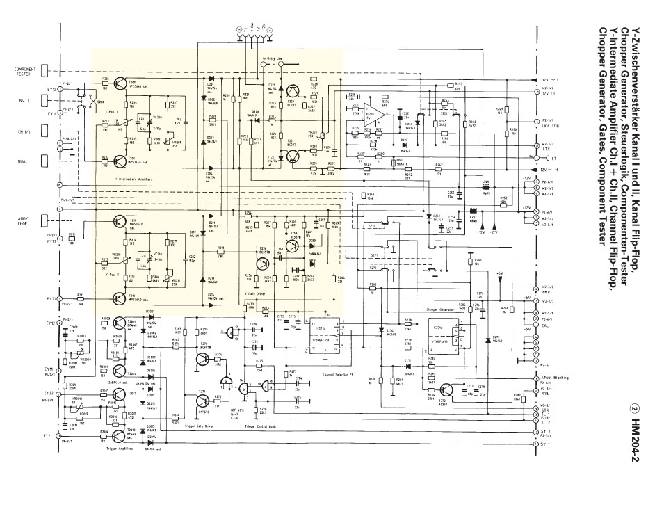 Hameg 204-2 Reparatur Y-Pos2 defekt - Mikrocontroller.net
