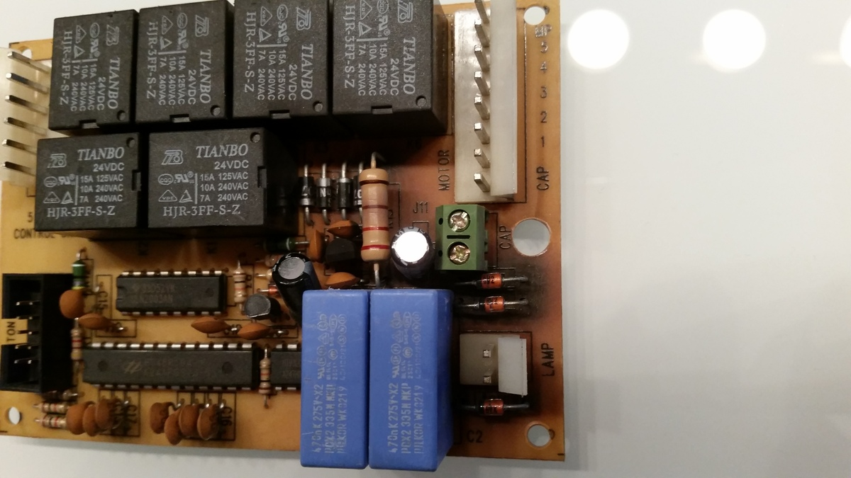 Uc der dunstabzug steuerung resettet sobald licht angeschaltet wird