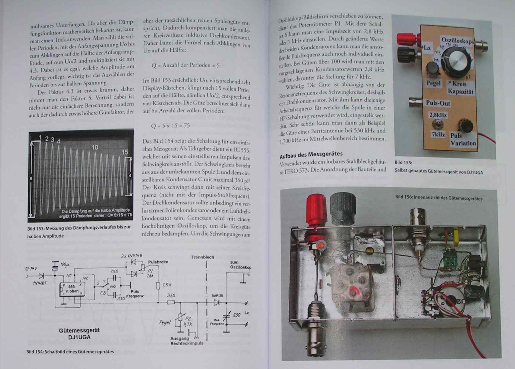 QDM Rohde und Schwarz Gütefaktormessgerät - Mikrocontroller.net