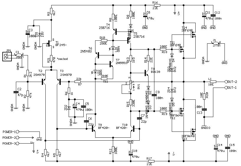 zener diode am gate
