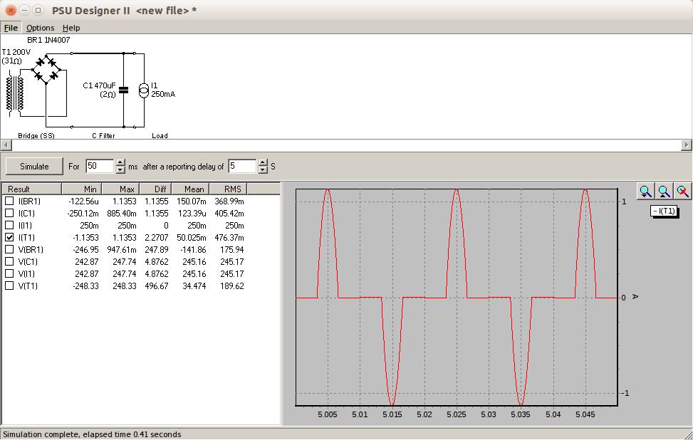 Transformator mit & ohne Gleichrichter - Mikrocontroller.net
