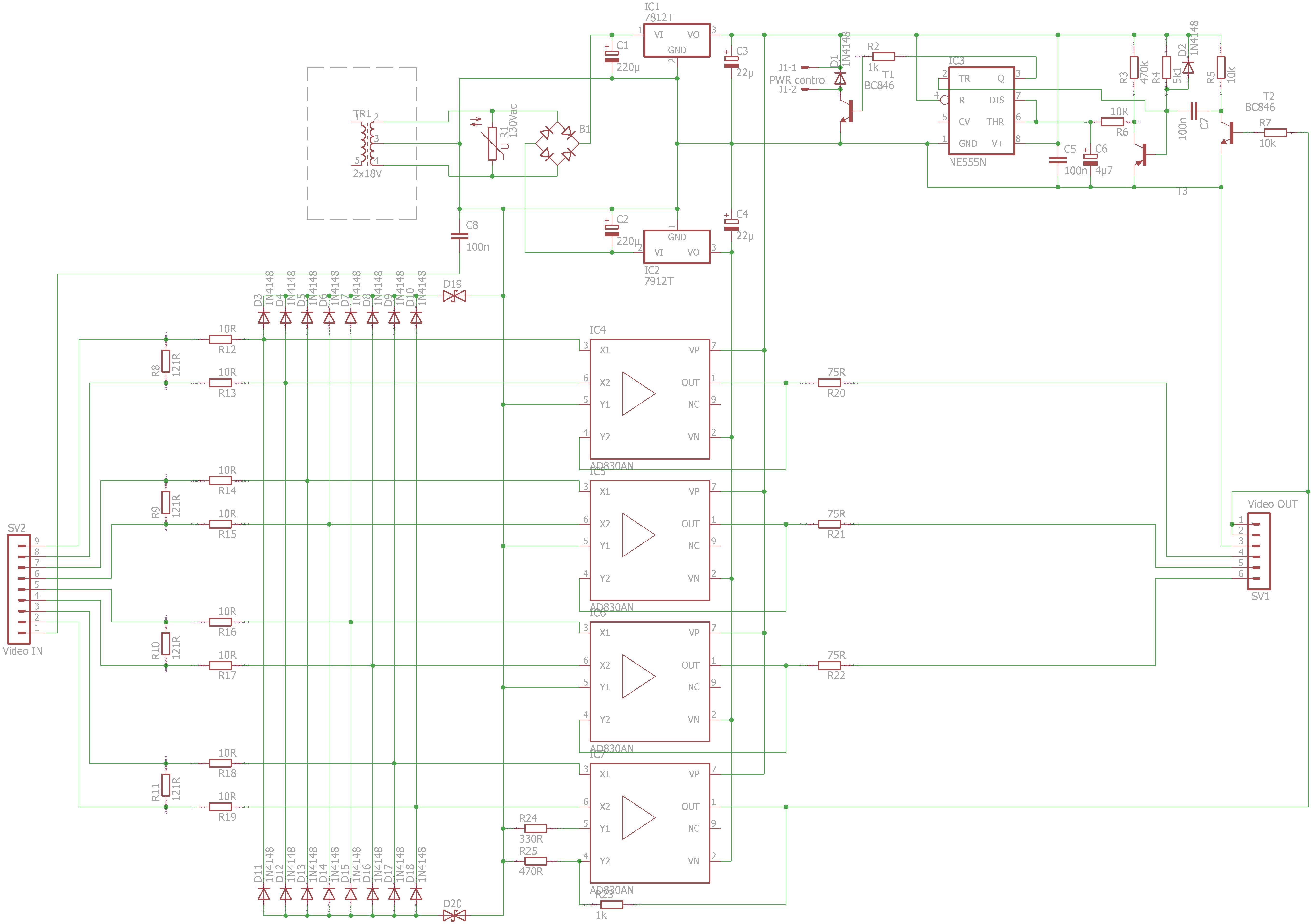 Platine: Videosignalwandlung mit Schaltausgang - Mikrocontroller.net