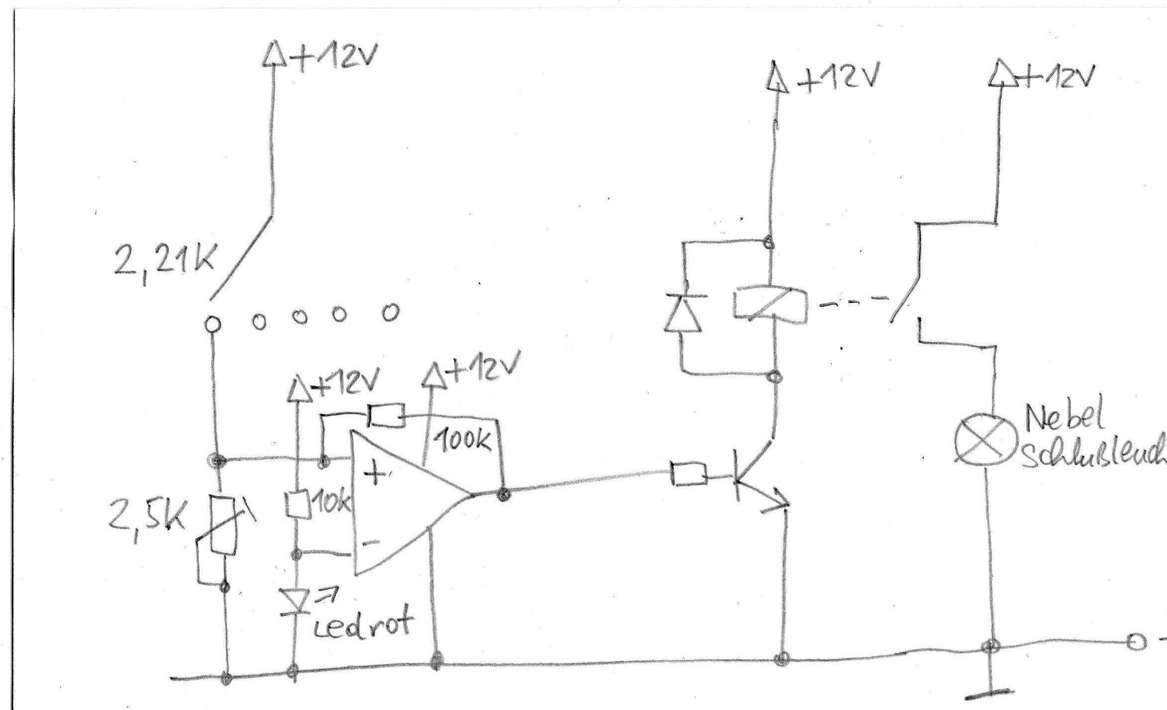 Widerstandsabhängiger KFZ Schalter - Mikrocontroller.net