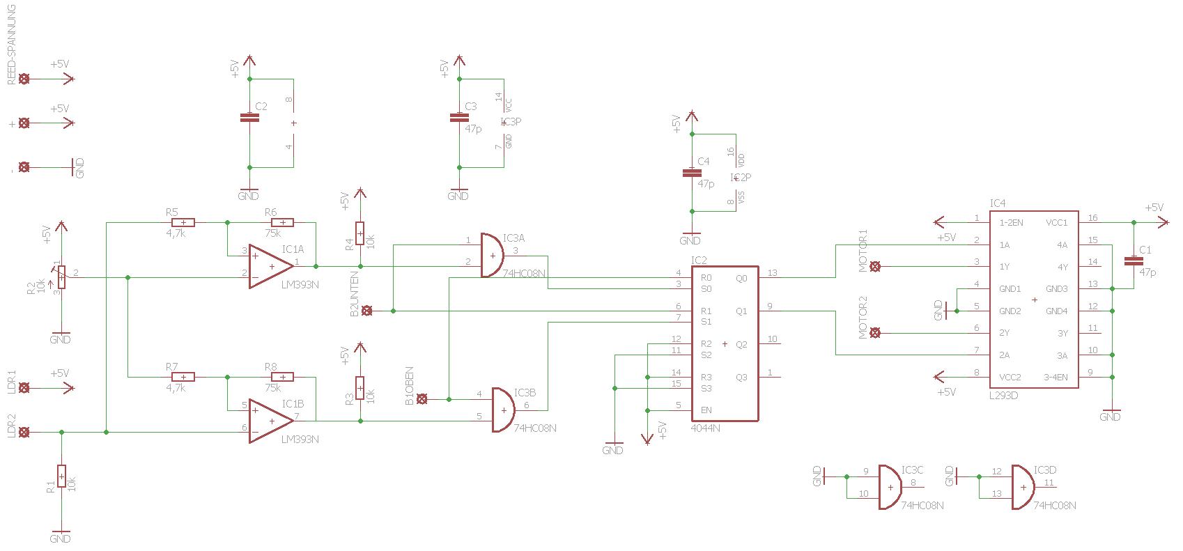 Ausgezeichnet Schaltung Ldr Zeitgenössisch - Elektrische Schaltplan ...