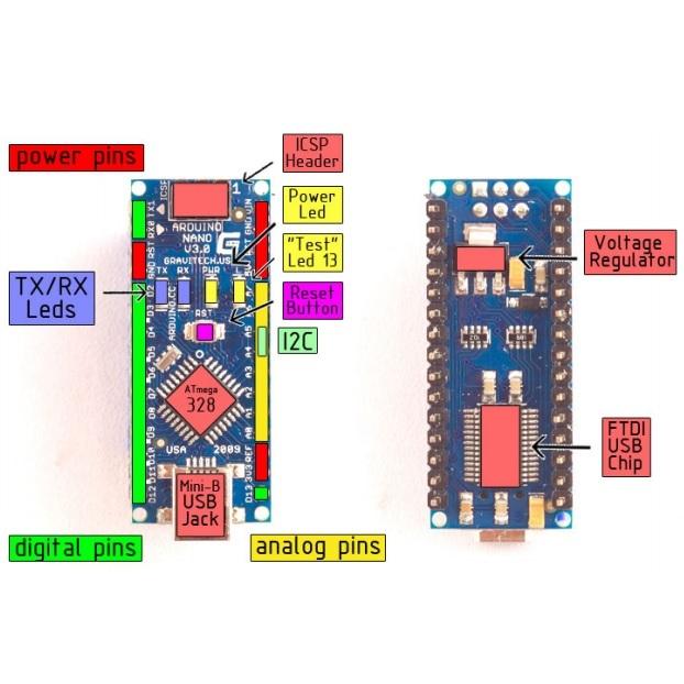 Arduino Nano v3 - Arduino Compatible - Seeed Studio