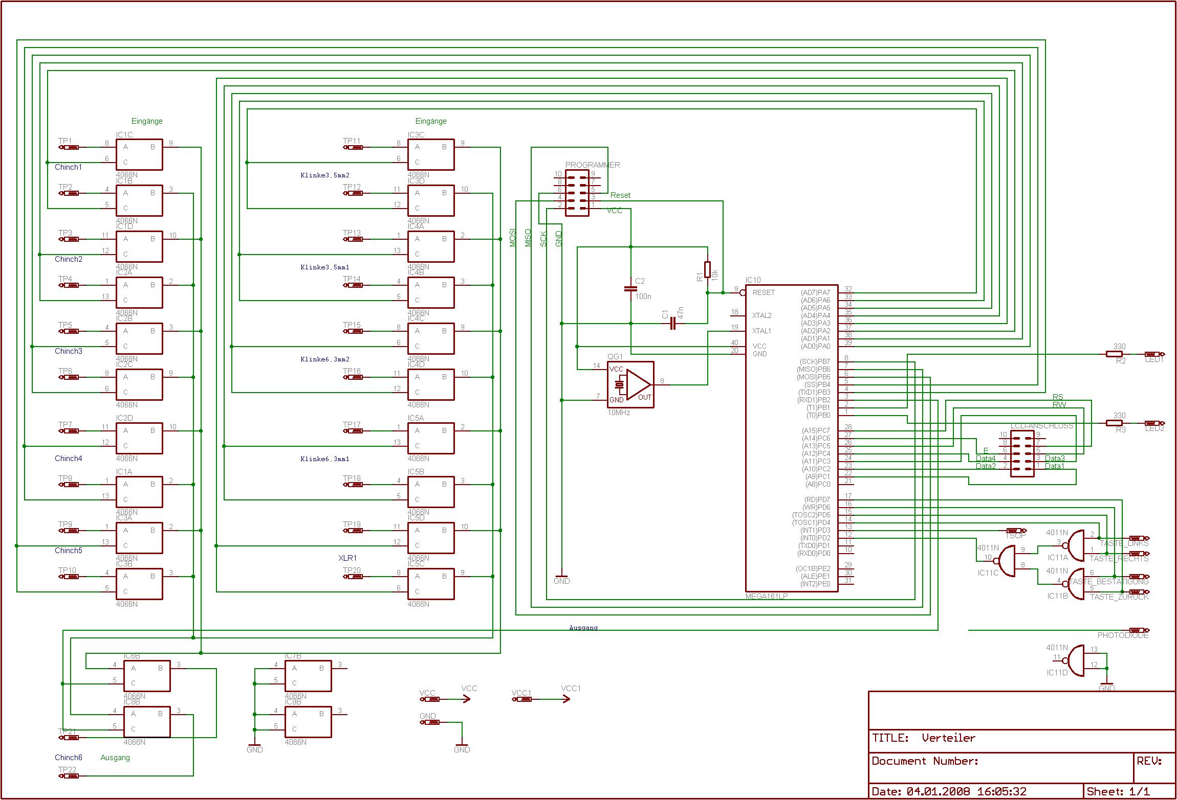 Schaltung so richtig? - Mikrocontroller.net