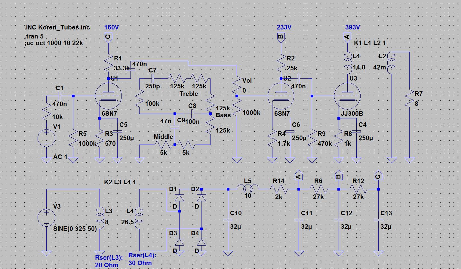 Triodenendstufe designen am Beispiel einer 300B - Mikrocontroller.net