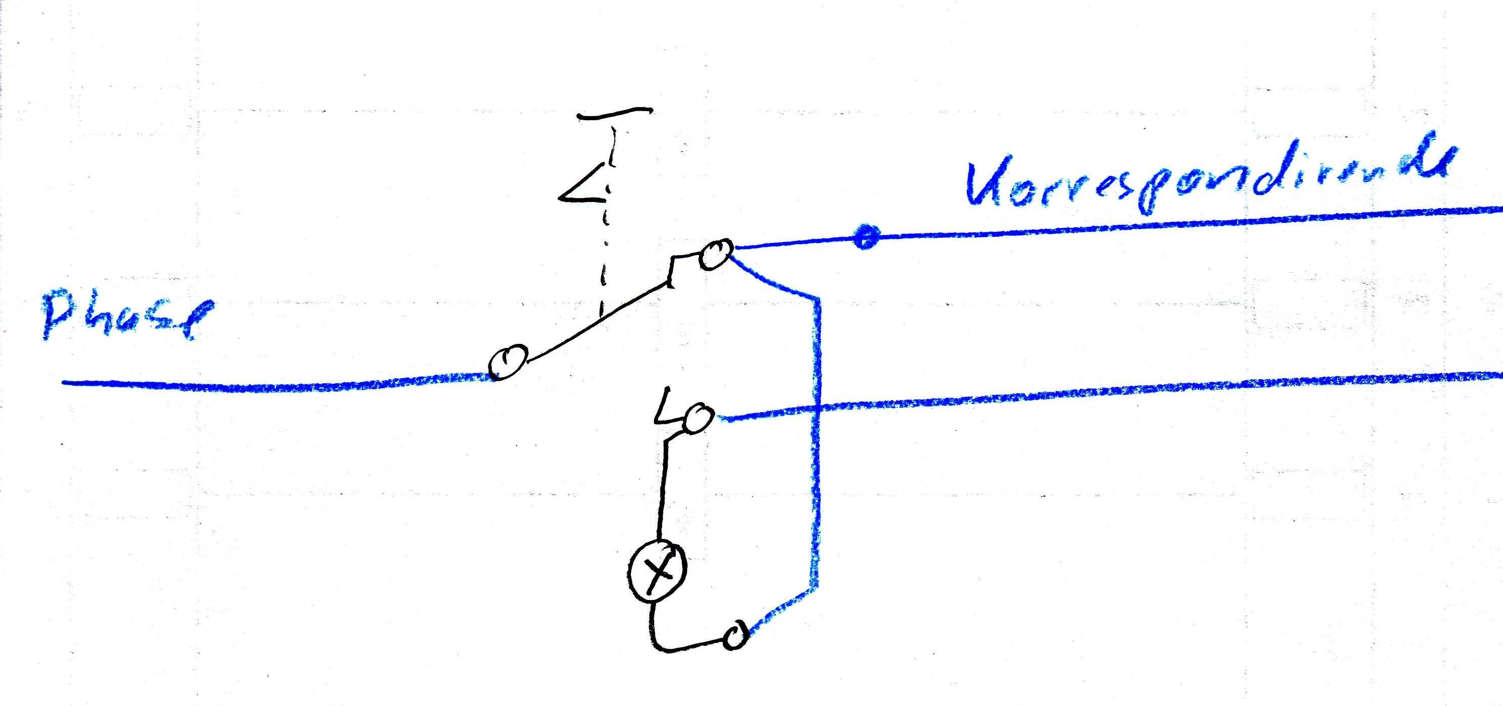 Kreuzschaltung mit Lämpchen - Mikrocontroller.net