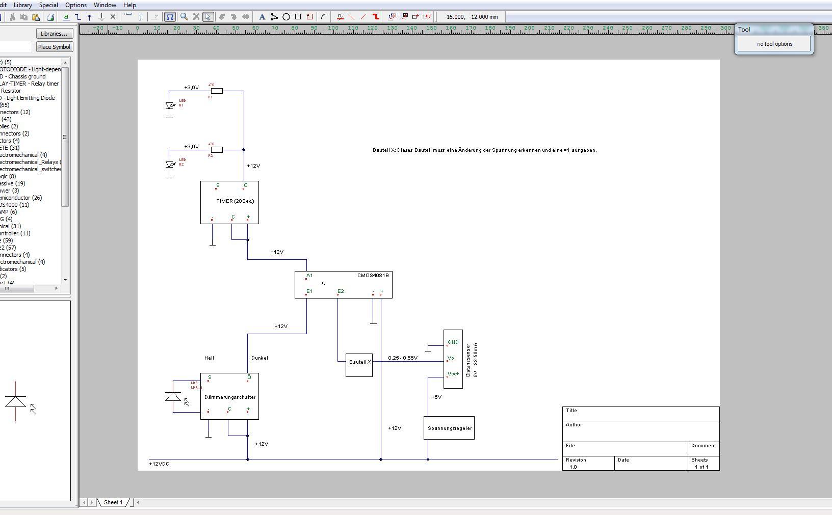 Hilfe bei Projekt (LED, Lichtsensor, Timer, Näherungssensor ...