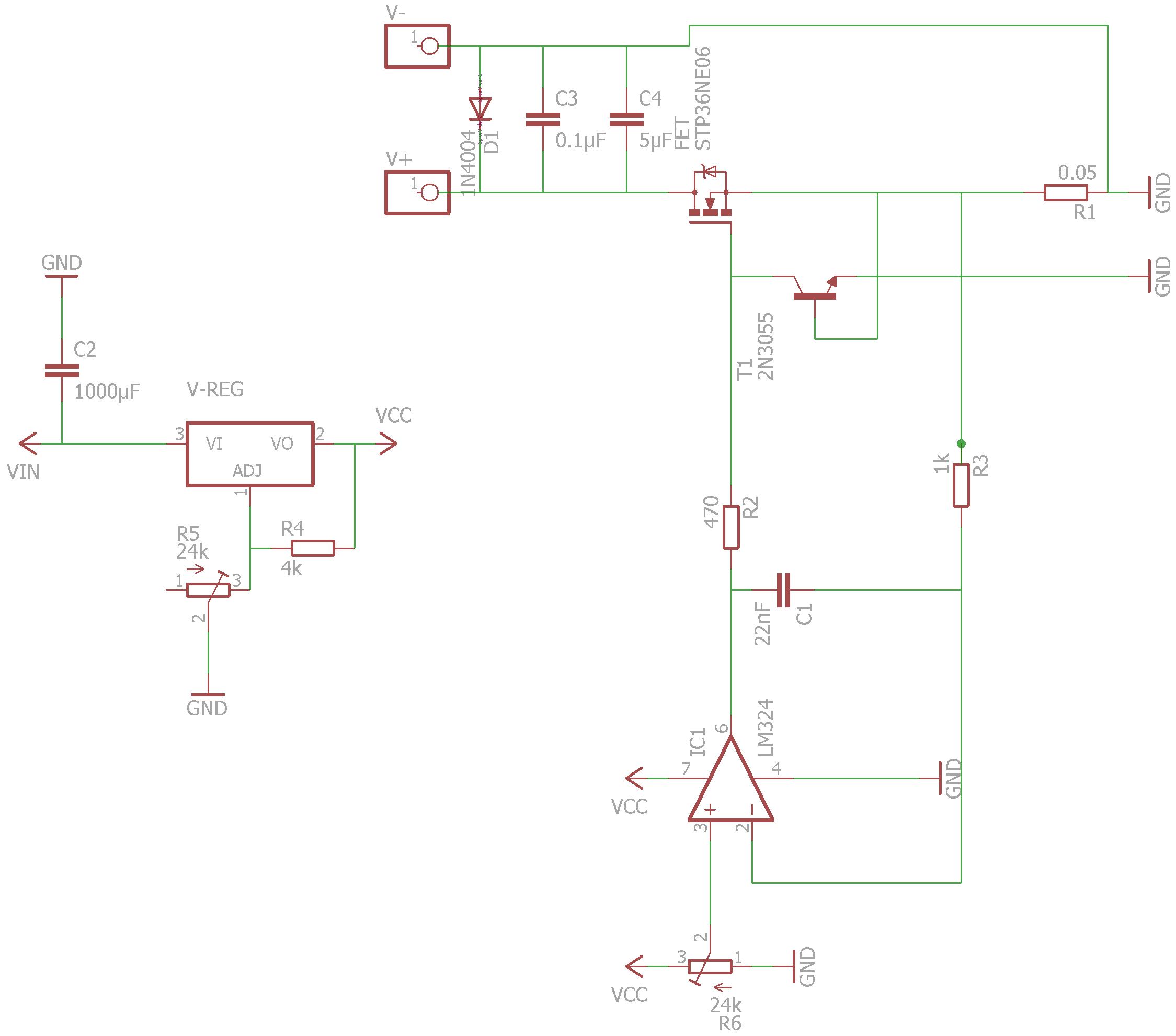 Nett Einfaches Elektronisches Diagramm Galerie - Schaltplan Serie ...