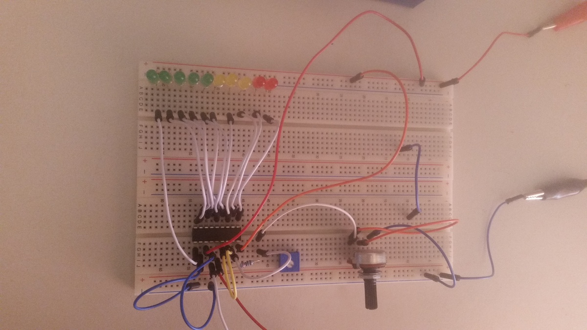 Lm3915 Als Vu Meter Led Flackert Using A Circuit Diagram Preview Image For 20160821 145652