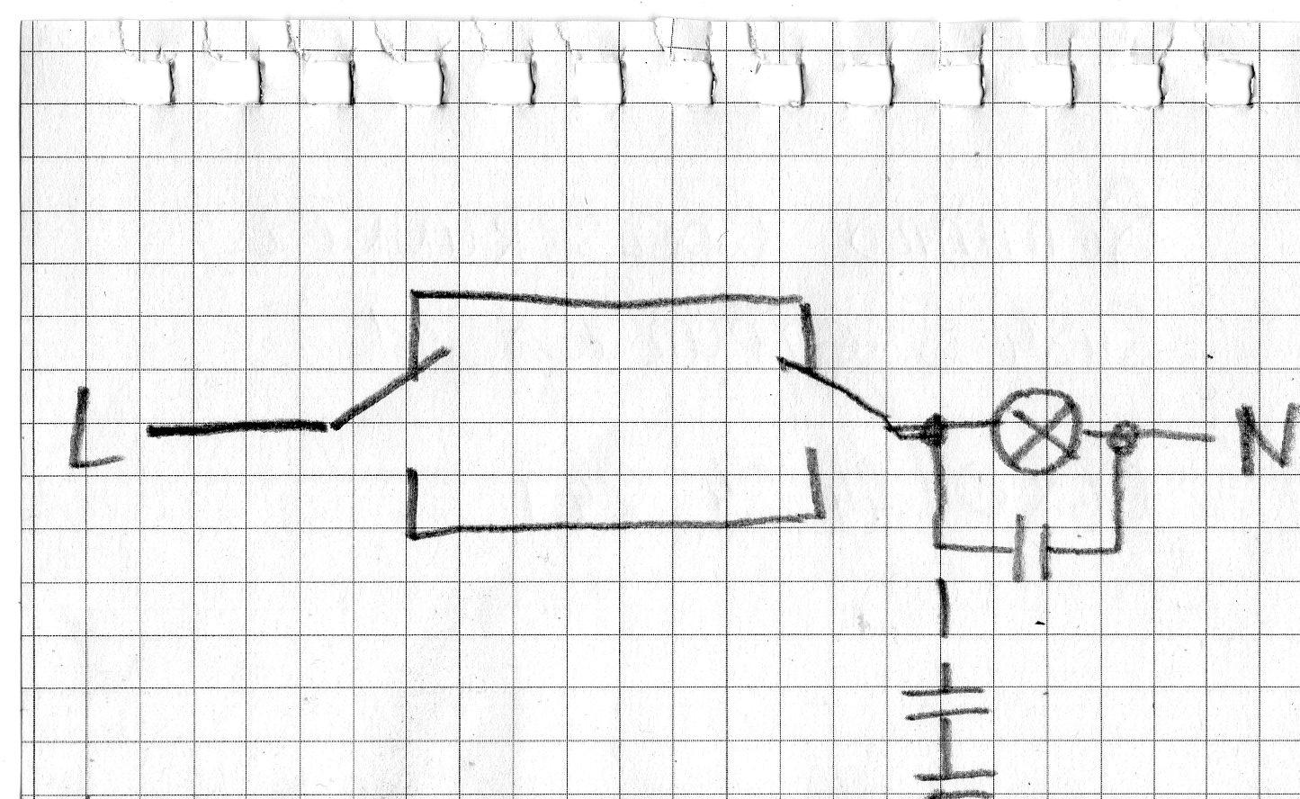 widerstand vs kondersator vor glimmende led. Black Bedroom Furniture Sets. Home Design Ideas