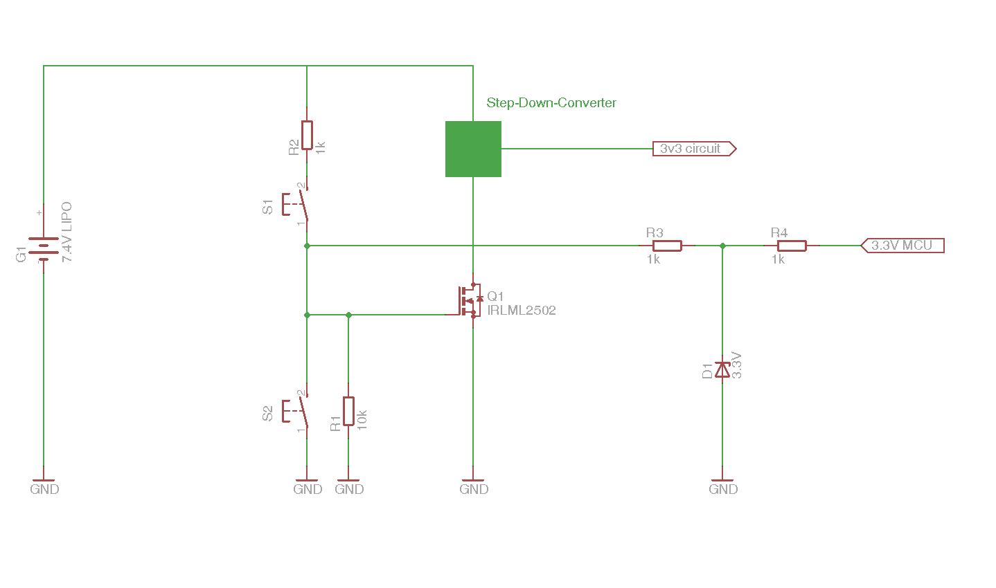 mit µC eigene Betriebsspannung schalten - Mikrocontroller.net