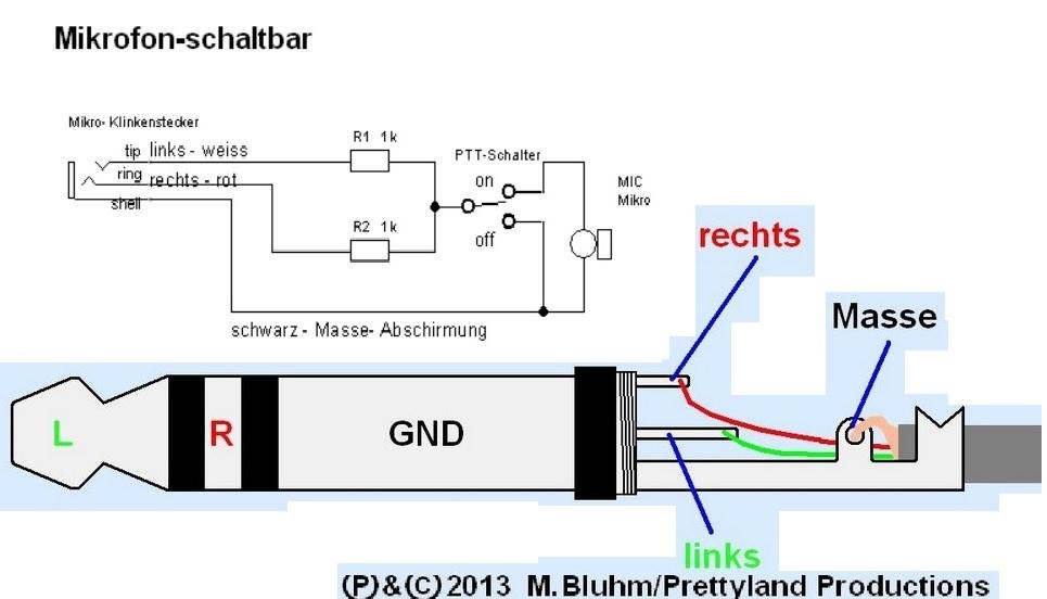 Umbau eines Handmikrofons ? - Mikrocontroller.net