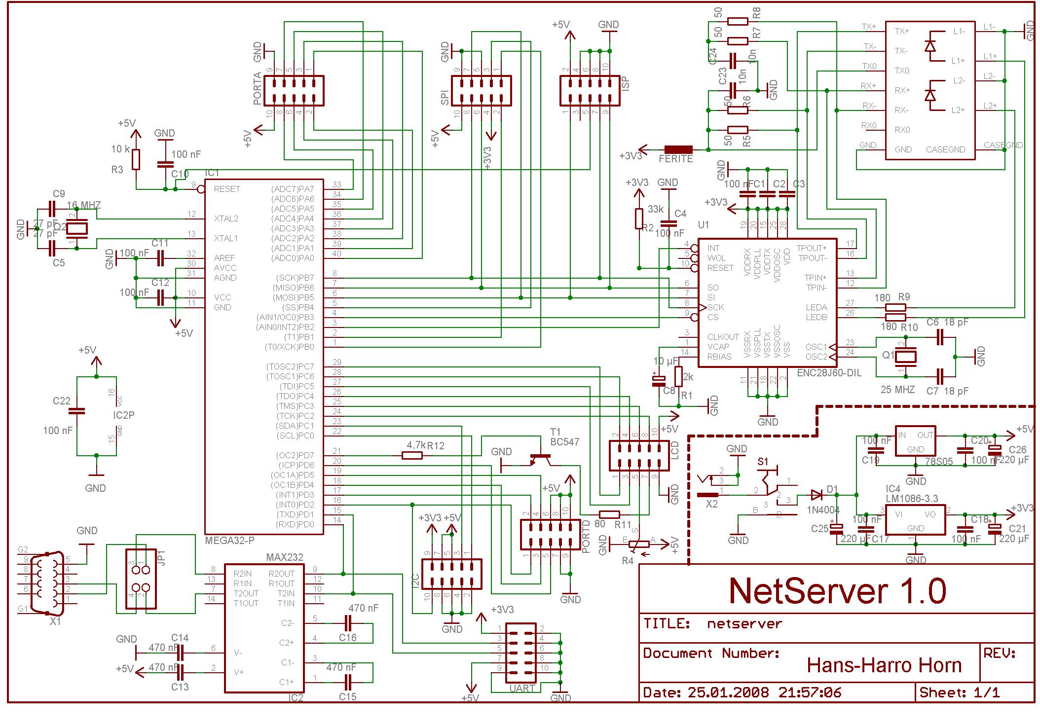 Ungewöhnlich Ethernet Anschluss Schaltplan Bilder - Der Schaltplan ...