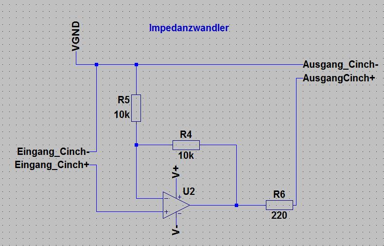 Operationsverstärker für Line-Out und Rec-Out - Mikrocontroller.net