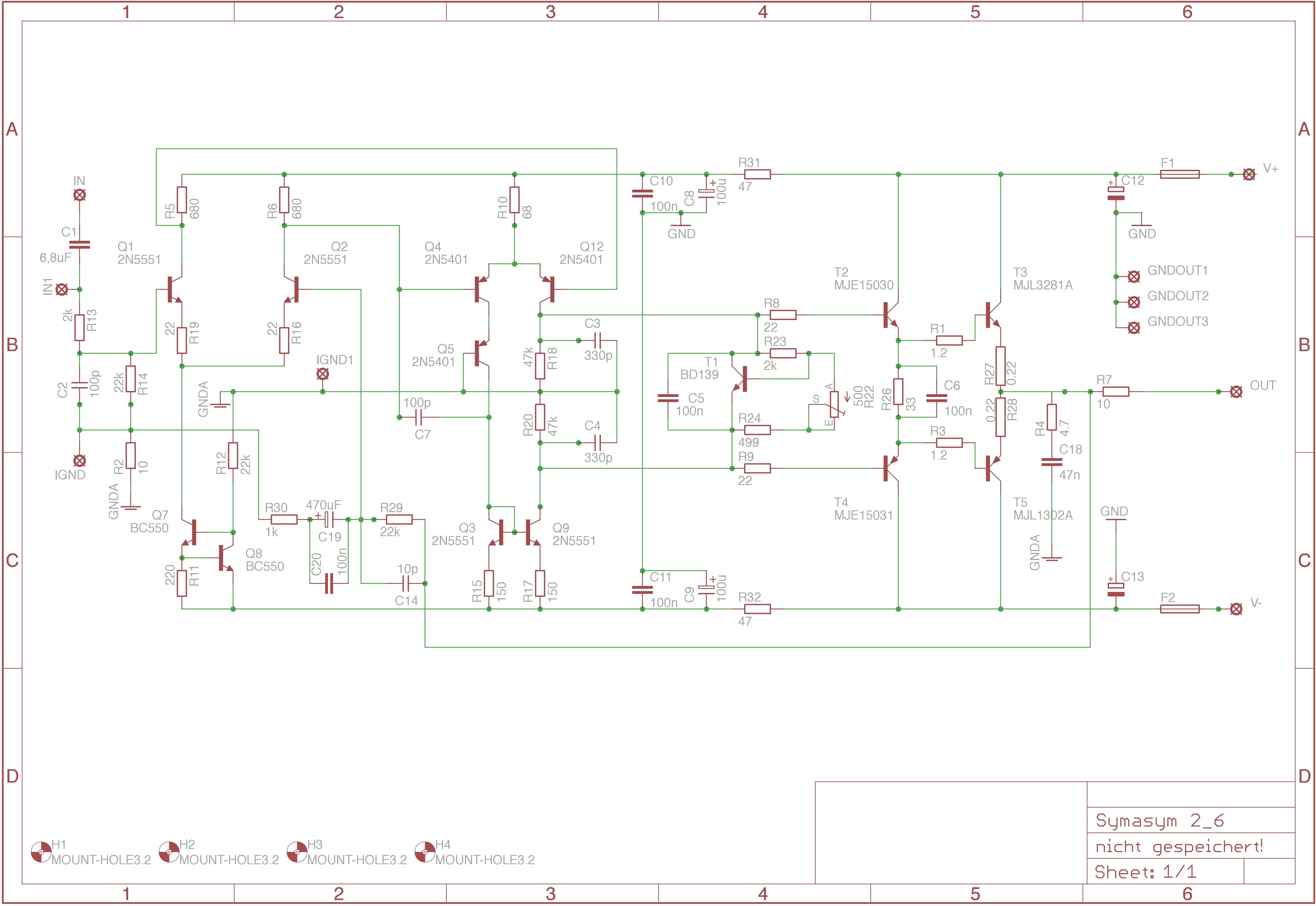 Erfreut Lautsprecher Schaltpläne Fotos - Schaltplan Serie Circuit ...