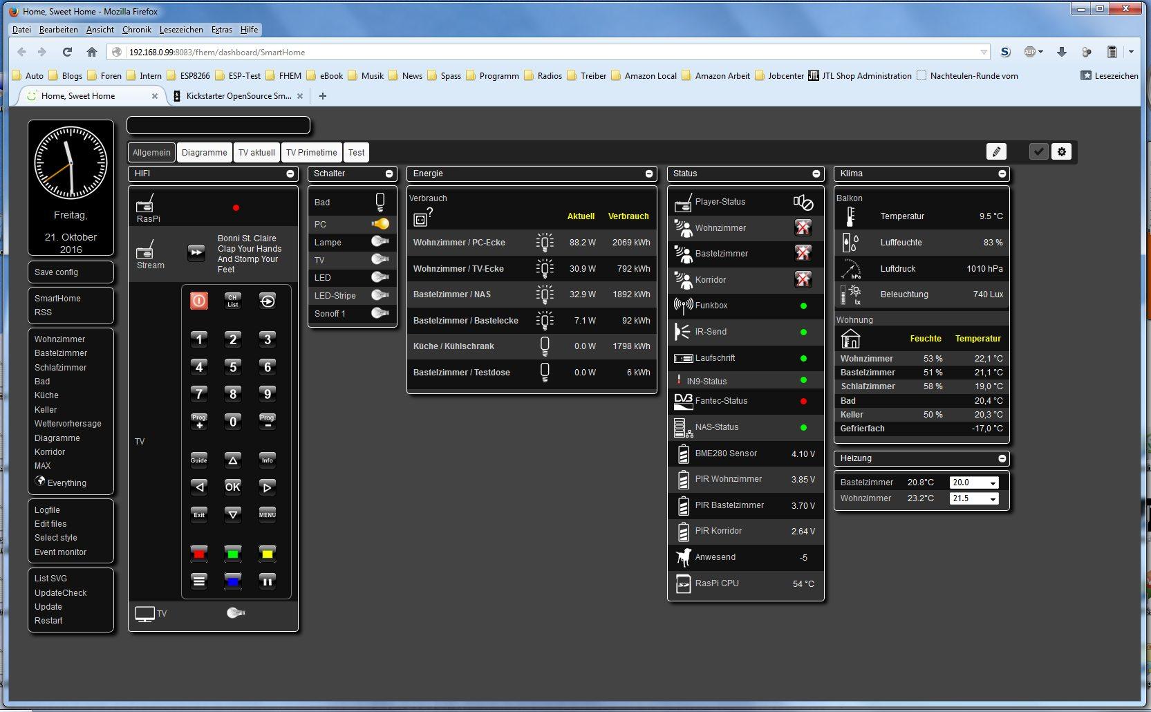 Kickstarter OpenSource SmartHome (Hardware und Software ...