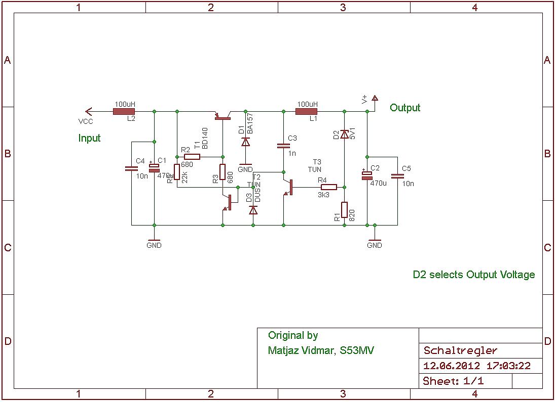 Dc Dc Wandler ohne IC`S - Mikrocontroller.net