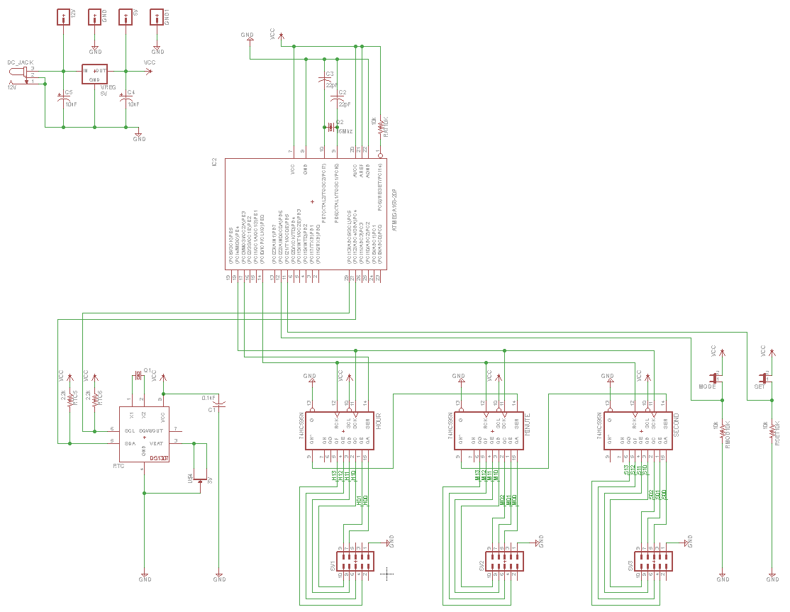 bin u00e4r-uhr projekt arduino