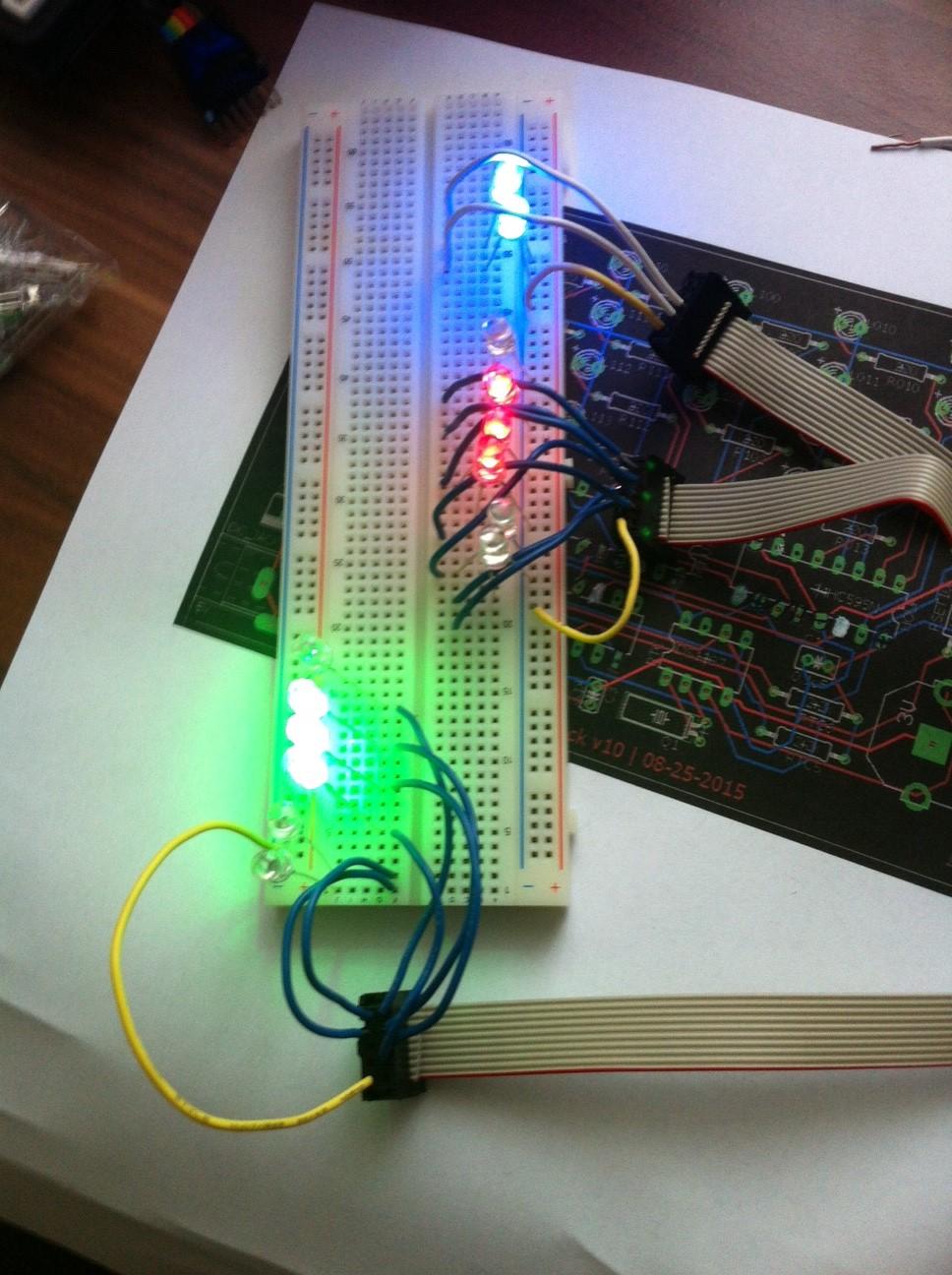 Binär uhr projekt arduino mikrocontroller