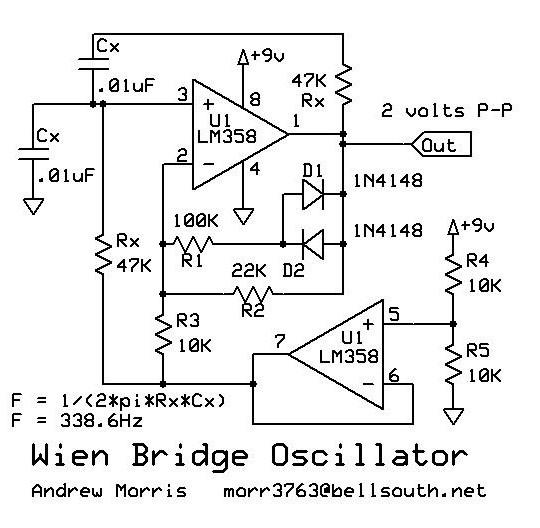 electronic circuit diagrams free download temperaturstabiler sinusgenerator  analog  temperaturstabiler sinusgenerator  analog