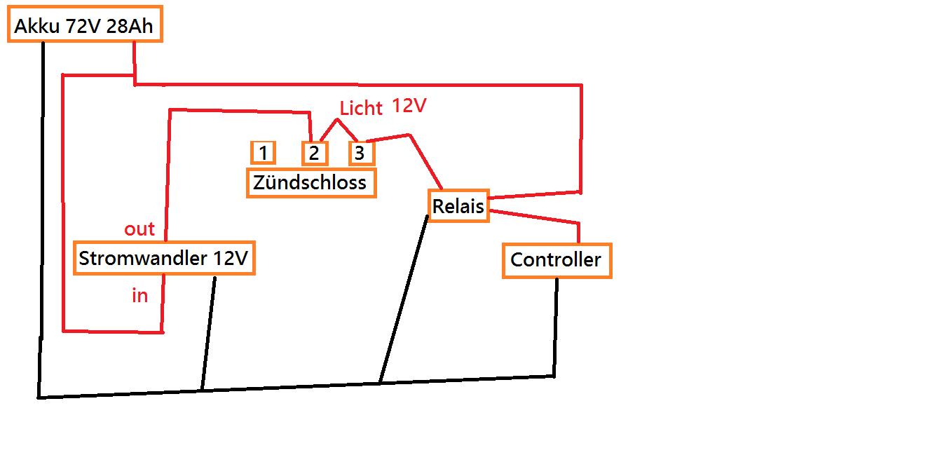 Schlüsselschalter bei 72V 28Ah - Mikrocontroller.net