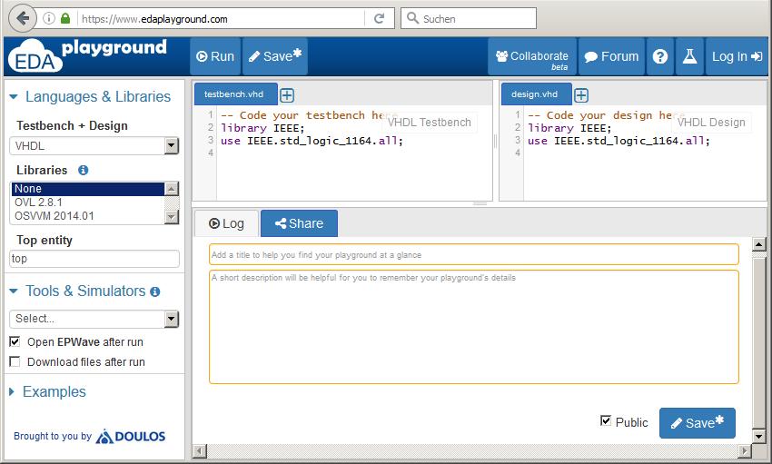 VHDL Entwicklung für Anfänger mit GUI - Mikrocontroller net
