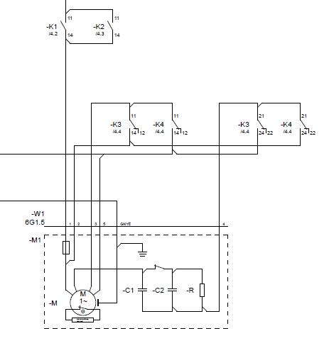 Funkenbildung verhindern am Kondensatormotor - Mikrocontroller.net