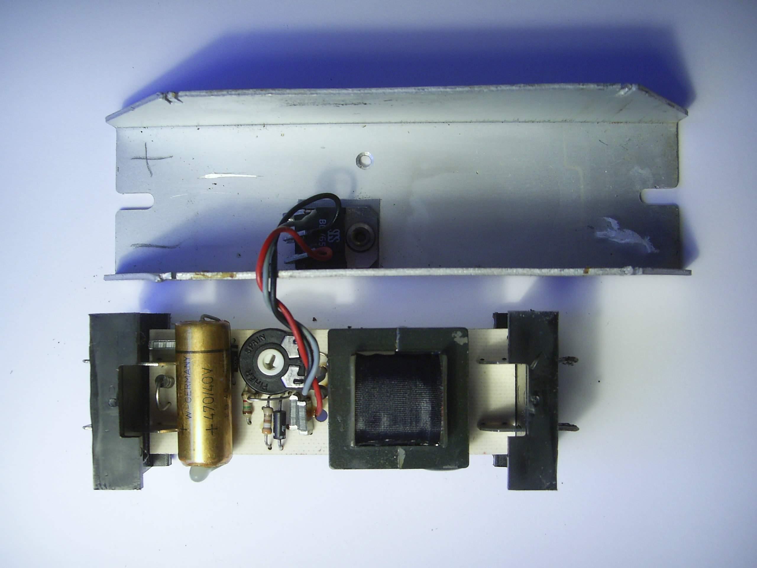 PIC_0041 Spannende Elektronisches Vorschaltgerät Leuchtstofflampe Schaltplan Dekorationen