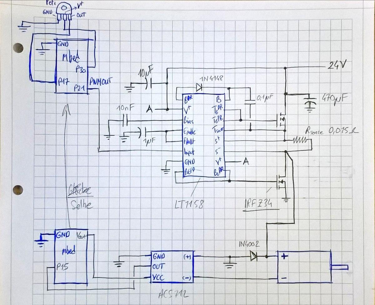 DC Motor zittert/ruckelt - PWM-Steuerung - Mikrocontroller.net