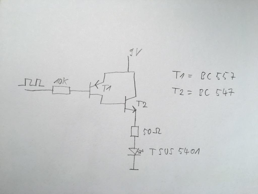 Darlington Transistor Als Pnp Circuit Diagram Of A Pair Using Npn Transistors Preview Image For Schaltung