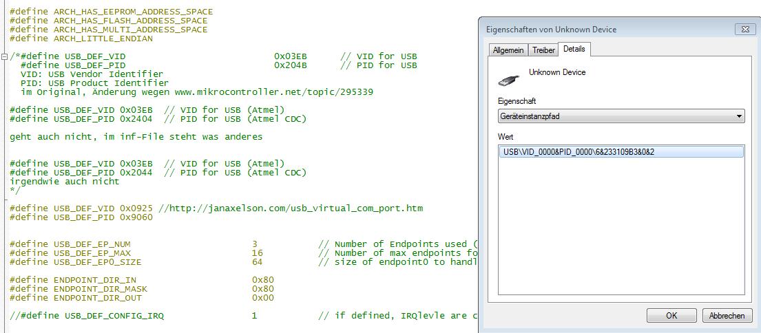 CDC für xmega - Mikrocontroller net